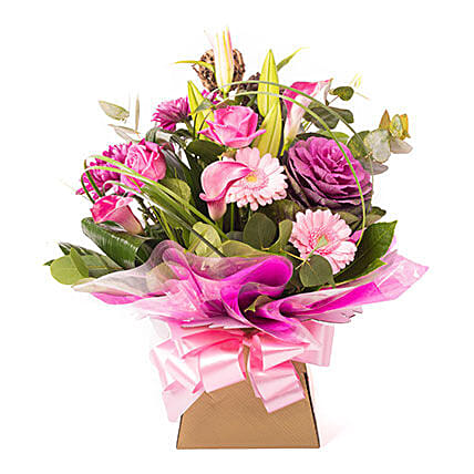 PS I Love You:Send Birthday Lilies to UK