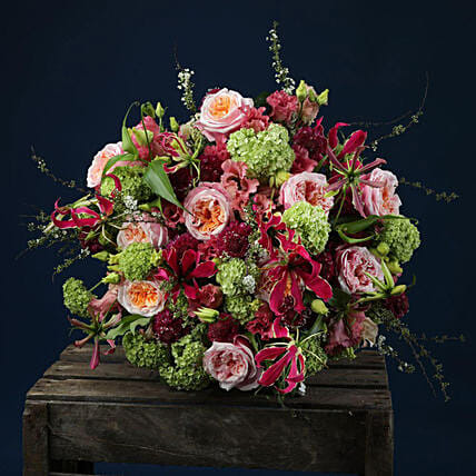 Roses And Mixed Flowers Bouquet:All Gifts