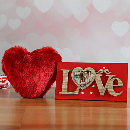 Small Heart And Love Frame