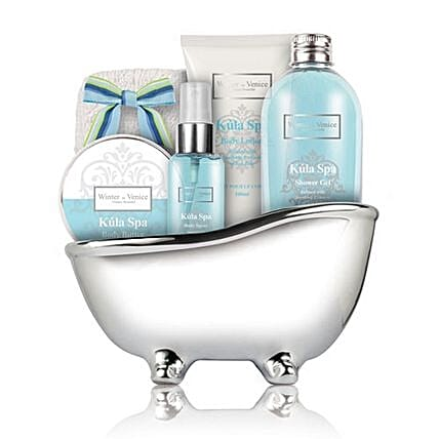 Spa Caddy Bath Tub:Cosmetics and Spa Hampers to UK