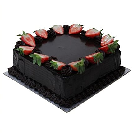 Square Chocolate Truffle:Order  Cakes to UK