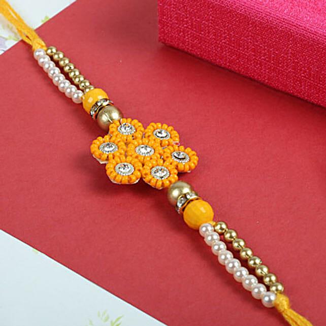 Sunflower Orange Rakhi
