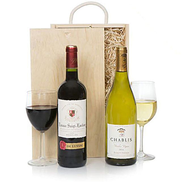 Luxury Fine Wine Selection