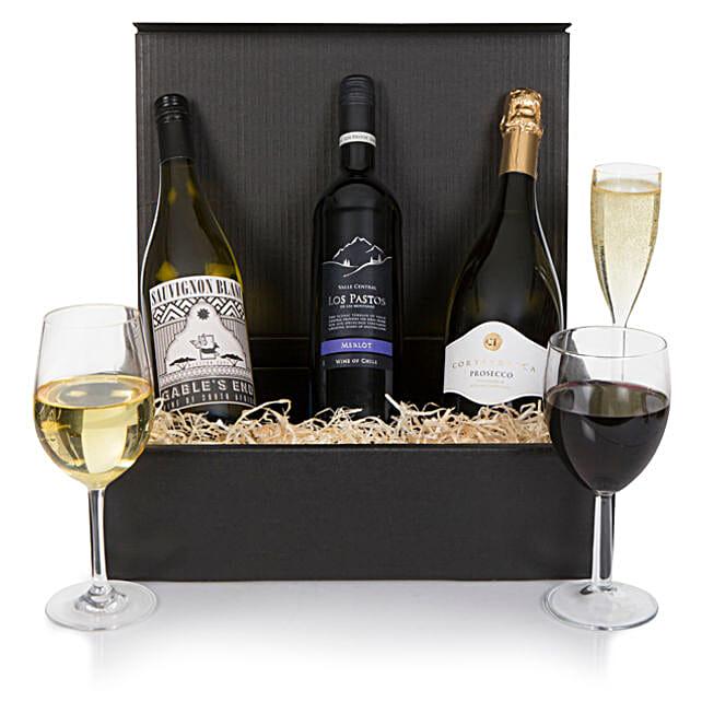 Luxury Wine And Prosecco Hamper