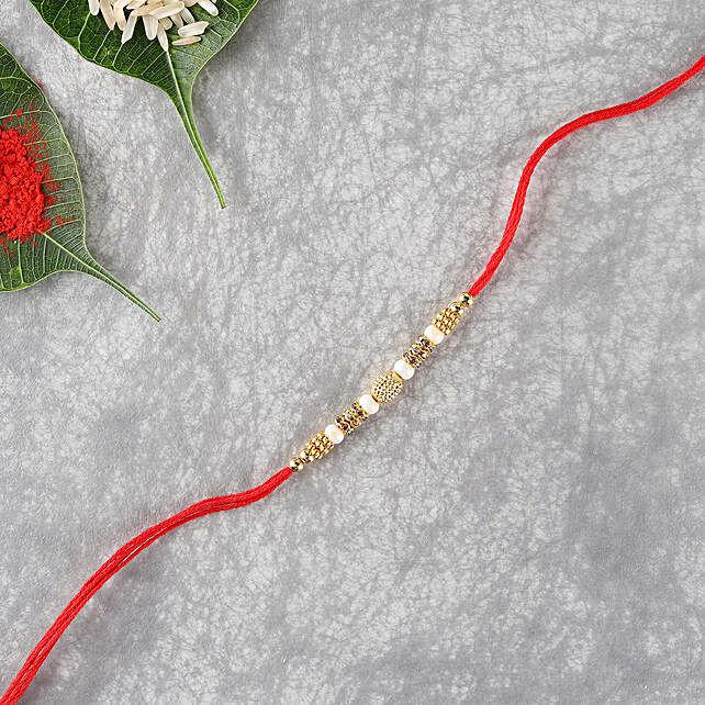 Elegant Premium Designer Thread:Designer Rakhi to UK