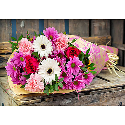 Assorted Mixed Flowers Bunch