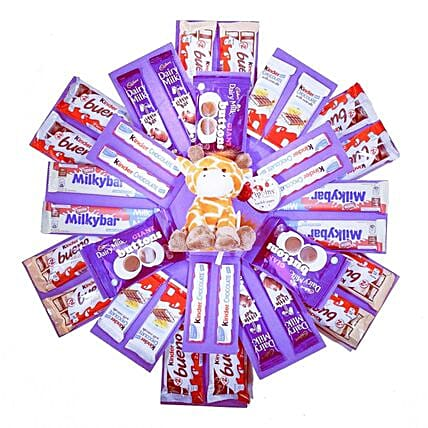 Kids Chocolate Surprise Exploding Gift Box
