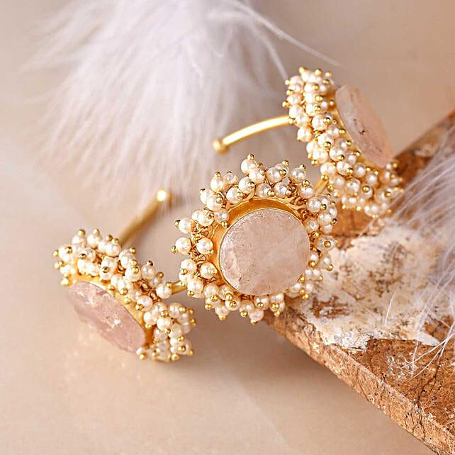 Premium Rose Quartz Stone Bracelet
