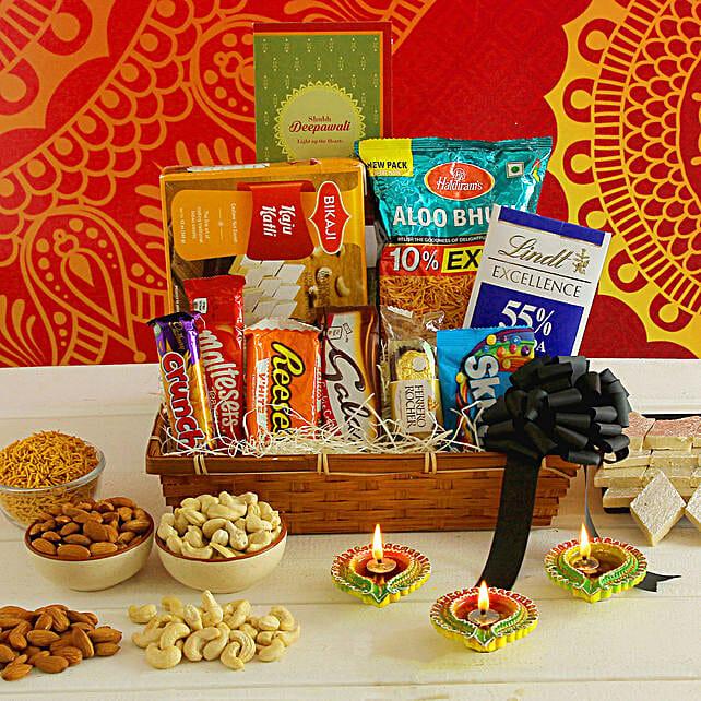 Diwali Greetings Traditional Treats Hamper
