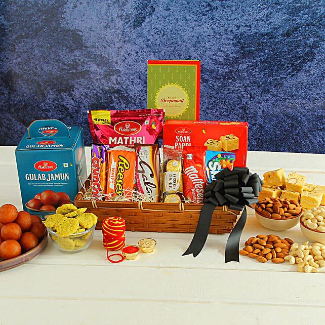 Sweet And Savoury Bhai Dooj Festivity Hamper