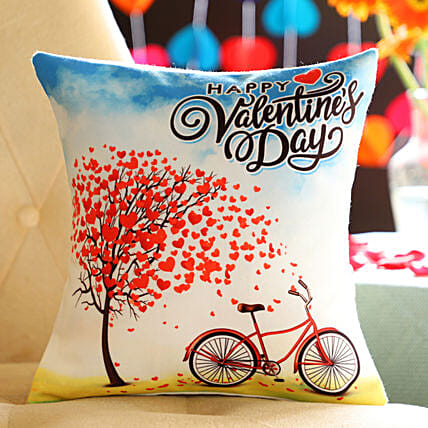 Online Valentine's Day Cushion