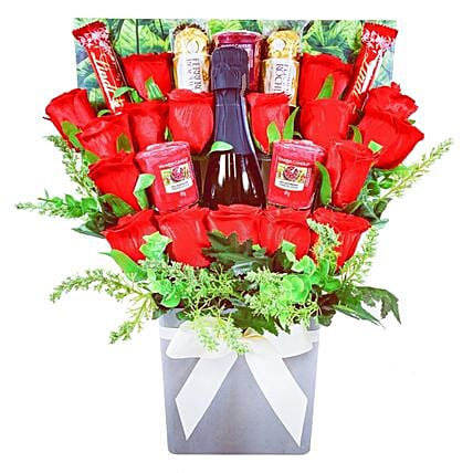 Yankee Candle And Prosecco Chocolate Bouquet