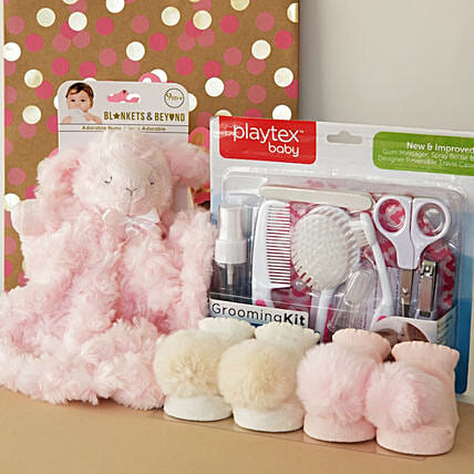 Adorable Gift Set For Baby Girl:Newborn Baby Gifts to USA