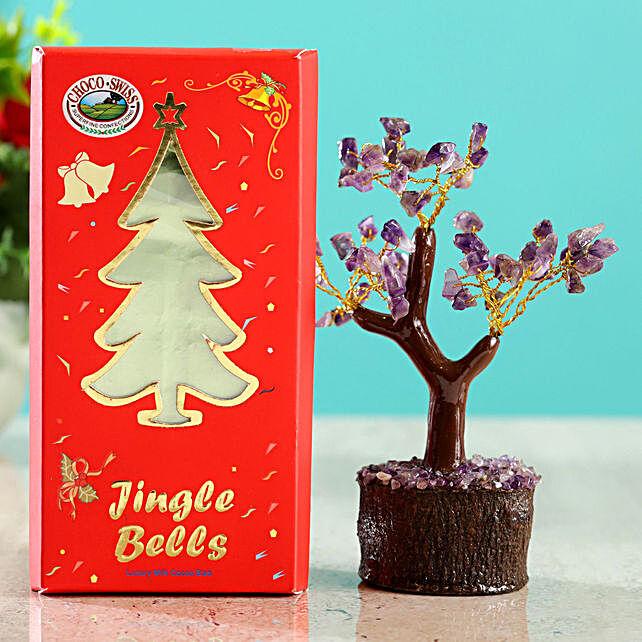 Amethyst Wish Tree & Choco Swiss Jingle Bells