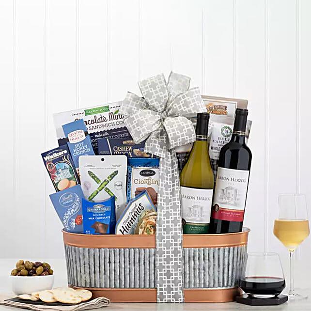 Baron Herzog Kosher Wine Basket
