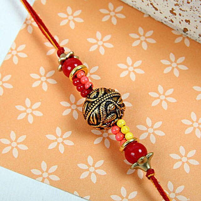 Beads Royal Rakhi