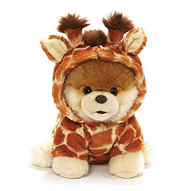 Boo Giraffe Plushy 9 Inches