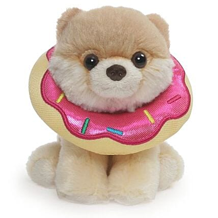 Boo In Sparkling Donut 5 Inches:Return Gift Delivery in USA