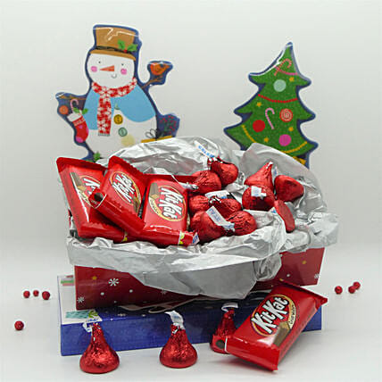 Chocolate Bites For Christmas:Gift Combos to USA