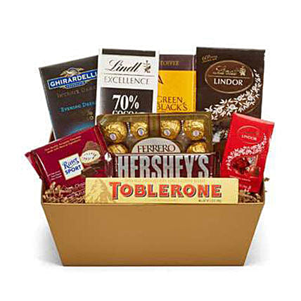 Chocolate Galore:Hampers USA