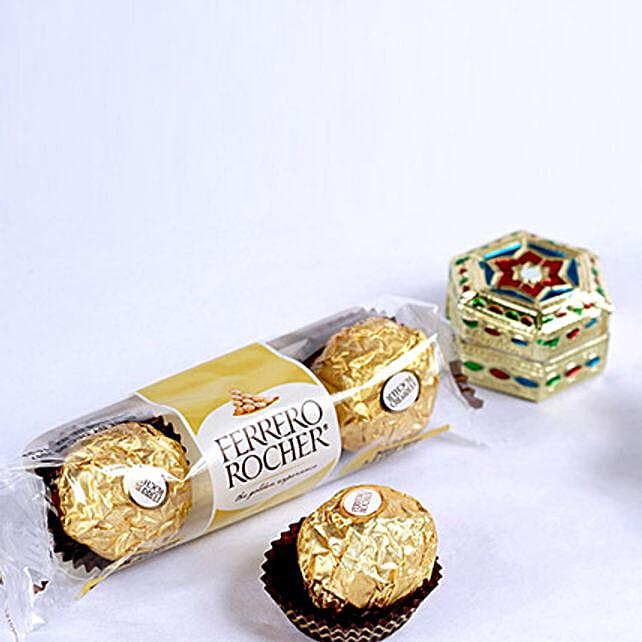 Chocolate Rich Bhai Dooj Tikka