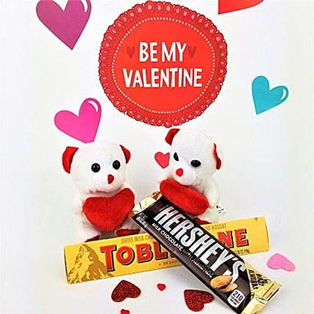 Chocolates N Teddy Combo