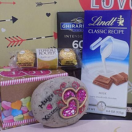 Chocolates With Engraved Message