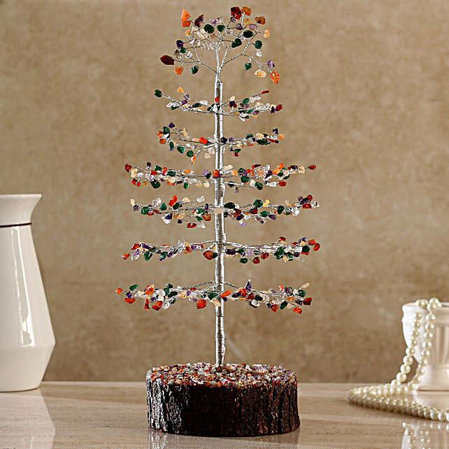 Christmas Style Multicoloured  Wish Tree