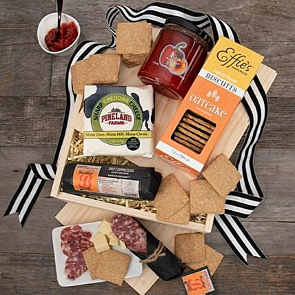 Classic Charcuterie Lovers Gift Crate