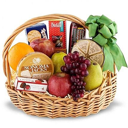 Combo Of Fruits And Gourmet Items