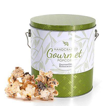 Cookies And Cream Flavoured Popcorn 1 Gallon