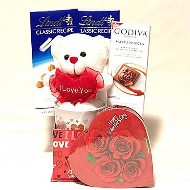 Cuddly Valentine Hamper