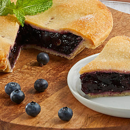 Delicious And Flavourful Blueberry Pie