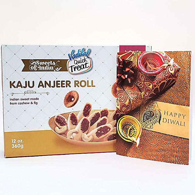 Delicious Kaju Anjeer Rolls Diwali Gift