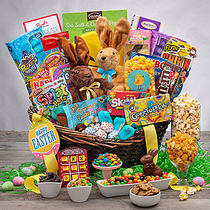 Delightful And Tasty Easter Gift Basket