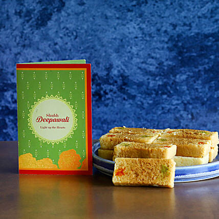 Diwali Sweets With Greetings:Send Sweets to USA