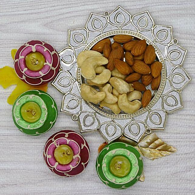 Dry Fruit And Matki Diya Combo