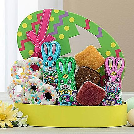 Easter Special Assorted Cakes And Chocolates Hamper