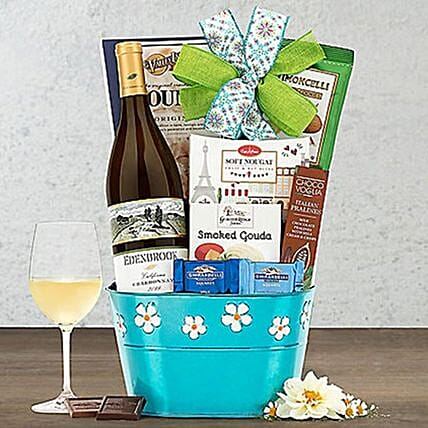 Edenbrook Vineyards Chardonnay Wine Gift Basket
