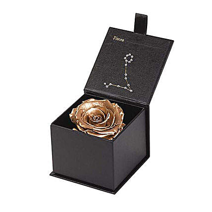 Eternal Rose Pisces Box:Send Forever Roses to USA