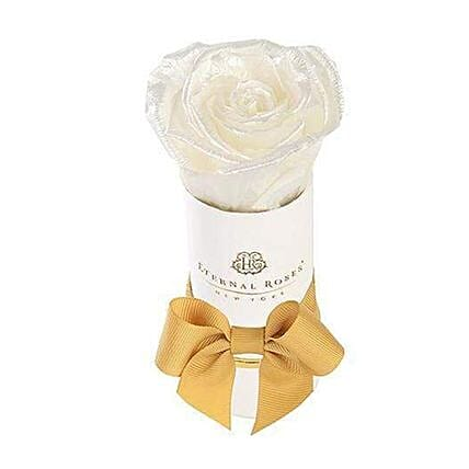 Eternal Rose With White Box:Send Forever Roses to USA