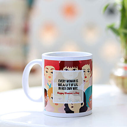 Women's Day Wishes Mug Online