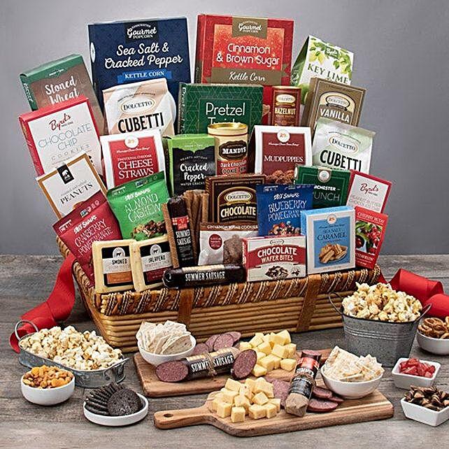 Family Snack Gift Basket
