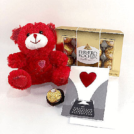 Ferrero And Teddy:Birthday Combos to USA