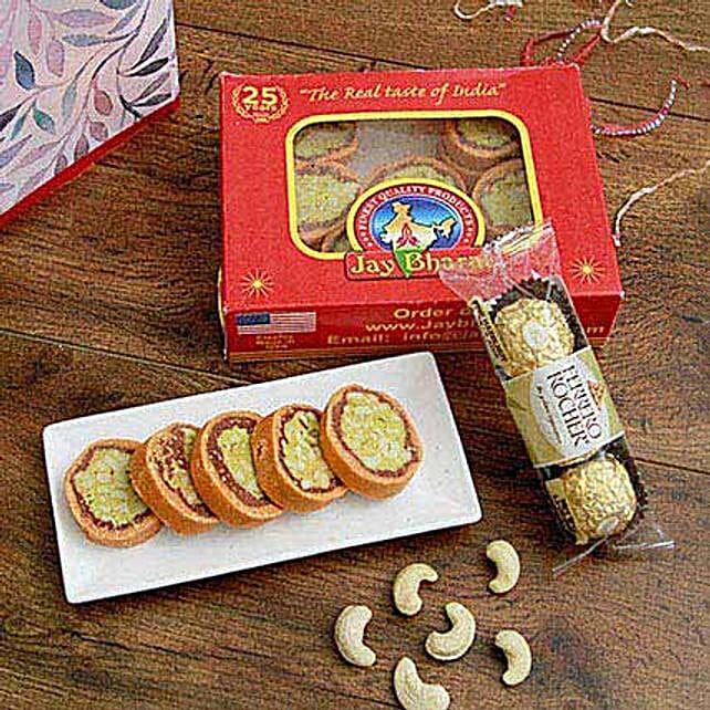 Ferrero Rocher N Orange Dry Fruit Cassata Roll