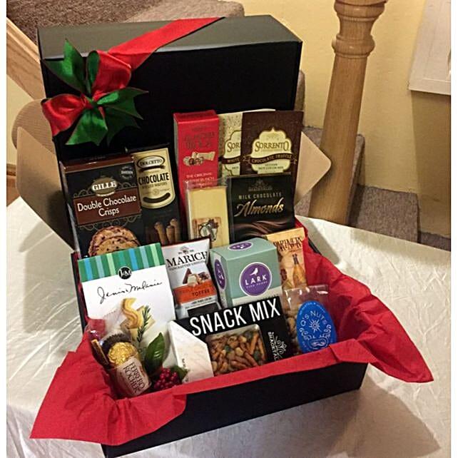 Festive Corporate Gift Hamper:Christmas Gift Baskets to USA