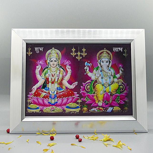 Ganesha Lakshmi Frame
