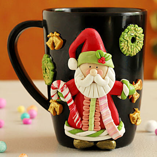 Gorgeous Xmas Special Santa Mug:Send Christmas Gifts to USA