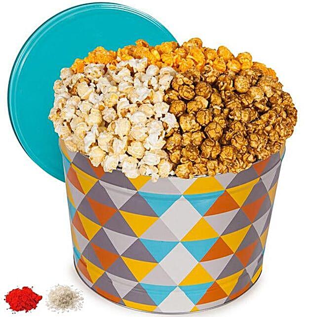 Gourmet Popcorn Tub For Bhai Dooj