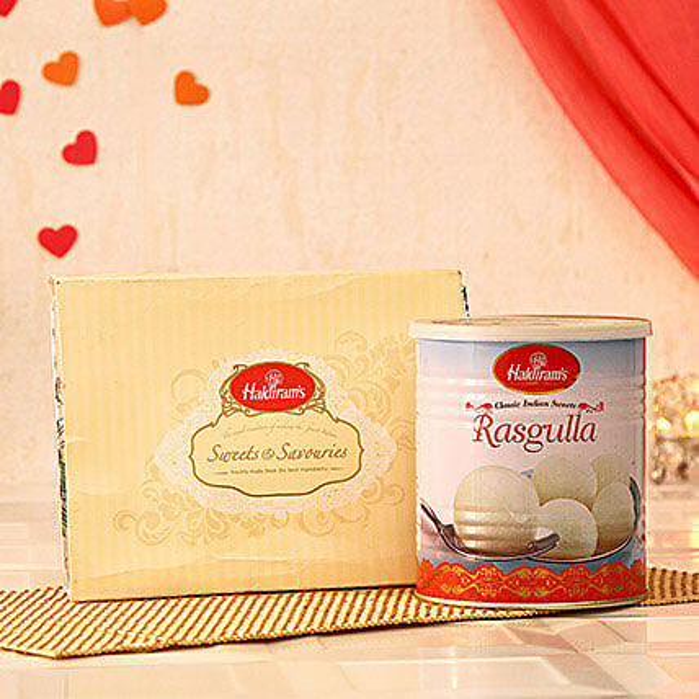 Haldiram Sweets N Savouries with Rasgulla